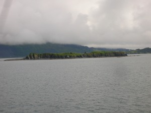 island in harbor